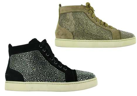 Jewel-Studded Sneakers
