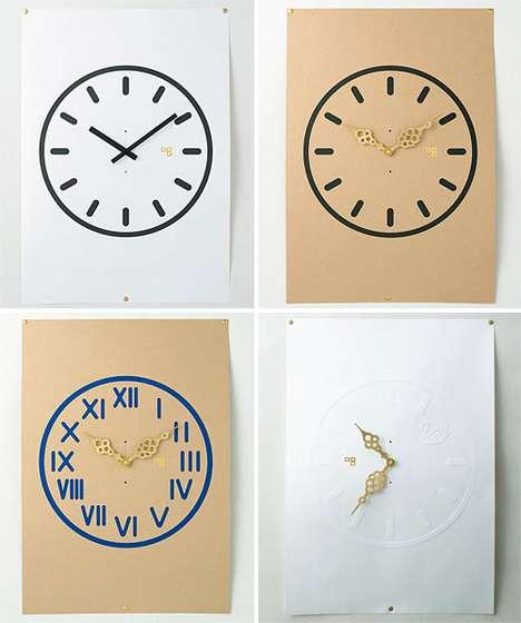 Time-Telling Wallpaper