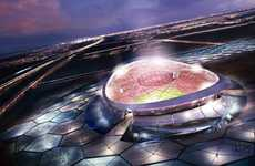 Solar Sportsplexes - The Lusail Iconic Stadium in Qatar Will Host Soccer With the Sun