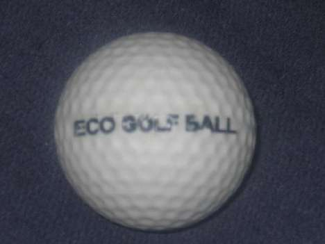 Dissolving Golf Balls - These Eco Golf Balls Won't Take Forever to Decompose