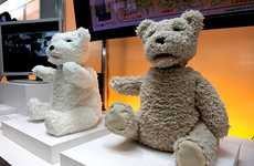 Talking Stuffed Animals - These Fujitsu Robotic Teddy Bears Interact with Humans