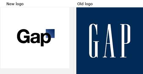 Controversial Logo Redesigns - The New Gap Logo Has Taken the Internet by Storm