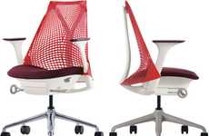 Webbed Seat Backings - The Herman Miller SAYL Chair is Inspired by the Golden Gate Bridge