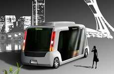 Eco Mini-Buses - The Cameo is a Zero-Emission Bus Suitable for Cities