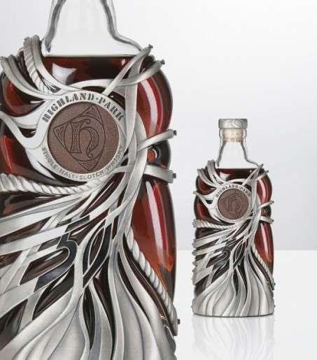 Sterling Silver Booze Bottles