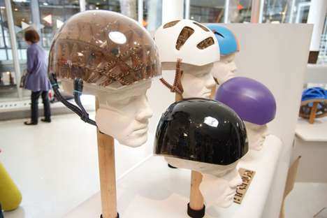 Recyclable Bike Helmets