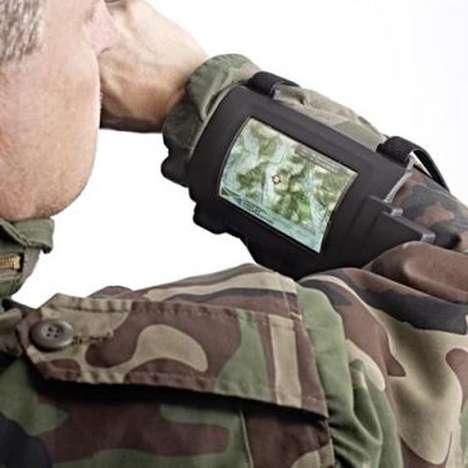 Military Wrist Displays