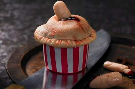 Blood-and-Gore Baking - Lily Vanilli Zombie Cupcakes Will Be Hitting Harrods for Halloween