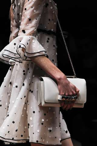 Sweet Studded Straps - The Bags in the Valentino Spring RTW Collection are Rocking