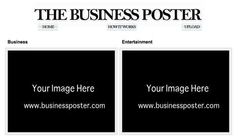 Page-Specific Virtual Billboards - The 'Business Poster' Assembles Online Ads in One Place