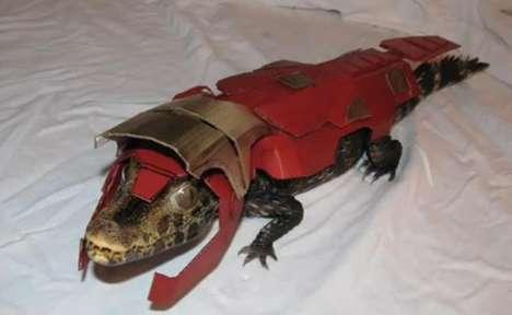 Superhero Crocodiles