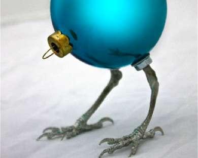 Odd Avian Ornaments