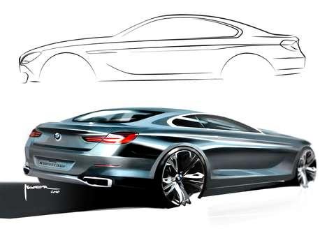 Luxury Concept Auto Sketches
