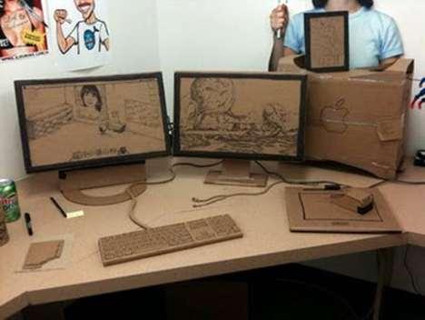 Cardboard Office Pranks