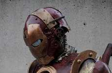 Steampunk Superhero Suits - The Steampunk Iron Man Costume Would Make Tony Stark Proud