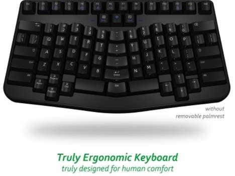 Hand-Contoured Keyboards