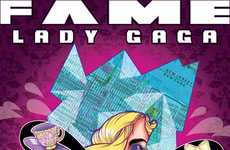 Gagafied Comic Books - Fame Lady Gaga Comics Illustrate the Singer's Career