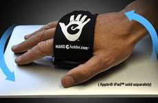Handy Tablet Gloves - Turn Your Palm into an iPad Stand with the Hand-E-Holder