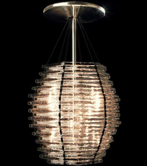 Wicker Basket Lighting