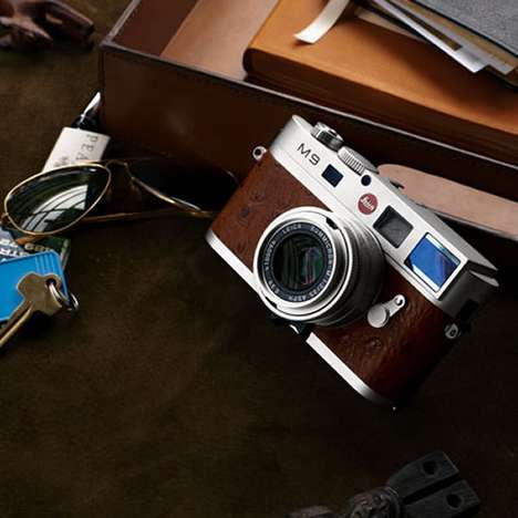 Limited Retro Cams - Neiman Marcus Teams Up With Leica For M9 Special Edition Camera