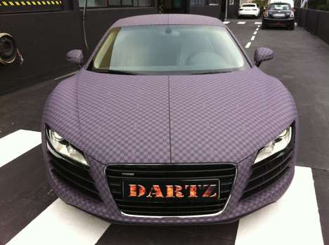 Checkered Luxury Cars