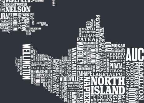 Fluent Font Maps