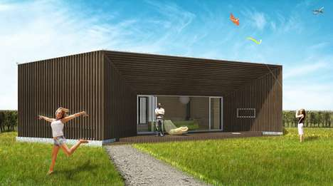 Geometric Rural Housing