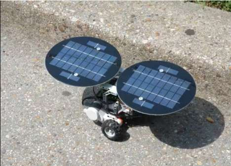 Solar-Powered Bots - dSolar Systems Panels Power Your LEGO NXT Robot