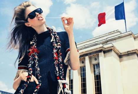 Fashionable Frolicking - The Taryn Davidson Spread for Marie Claire Italia is Fabulous