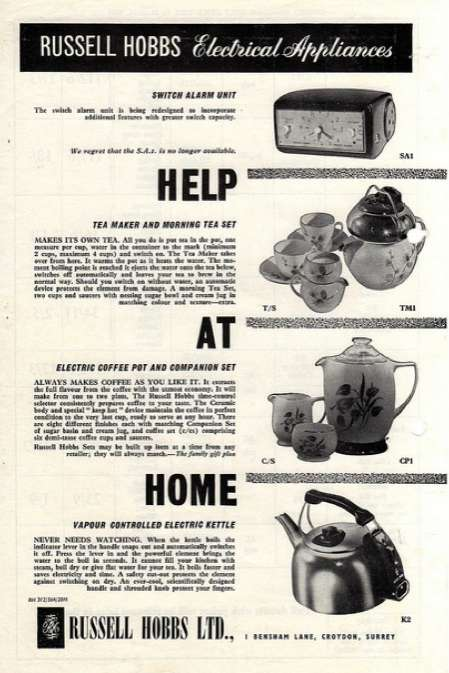 These Russell Hobbs Advertisements Bring You Back