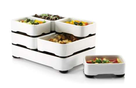 Stackable Kitchen Crockery