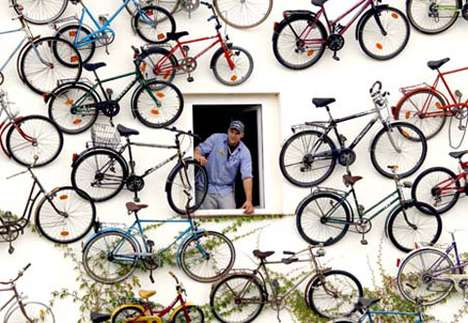 Unique Bicycle Displays