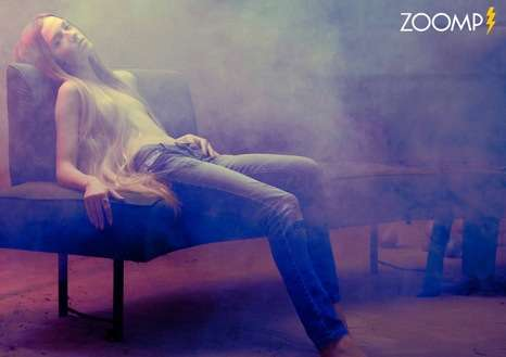 Steamy Denim Photoshoots - Fernando Mazza Shoots a Steamy Campaign for Zoomp Jeans
