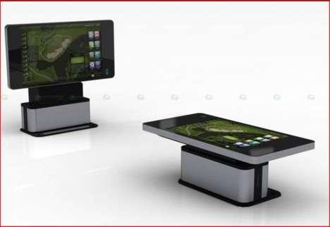 Massive Touchscreen Tables
