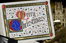 $4,000 Holiday Cards - Give Some Luxe This Christmas With Gilded Age Greetings