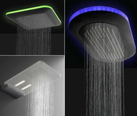 These 'Light' Series LED Shower Heads Cleanse the Mind