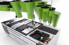 Uber Green Kitchens