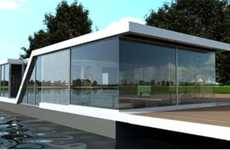 Amphibian Vacation Homes - The Waterstudio Watervilla has Submerged Sleeping Quarters