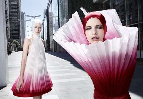 Flower Petal Fashion