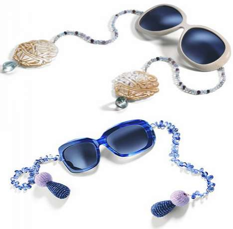 Raffaella Montalban Bejeweled Sunglasses Are Swinging Shades