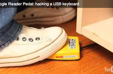 DIY PC Pedals - The Google Reader Pedal Takes the Stress off Your Wrist