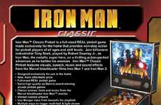 Superhero Pinball Machines - The Stern 'Iron Man' Home Cabinet is for Hardcore Fans