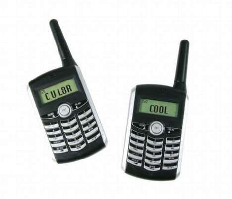 SMS-Only Walkie-Talkies