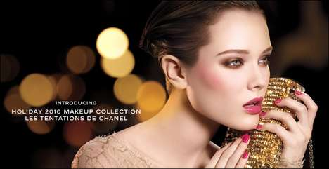 The Chanel Holiday 2010 'Les Tenations' Makeup Collection is Vibrant