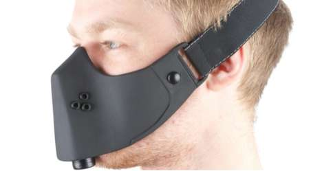 Minimalist Gas Masks - The Samsonite Breathing Mask Trims the Fat off Conventional Gas Masks
