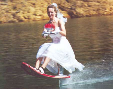 Seated Water-Skiing