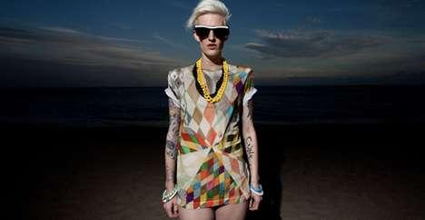 Kaleidoscopic Hipster Tees