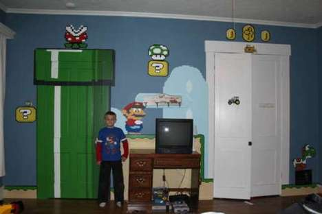 Gamer Bedroom Art