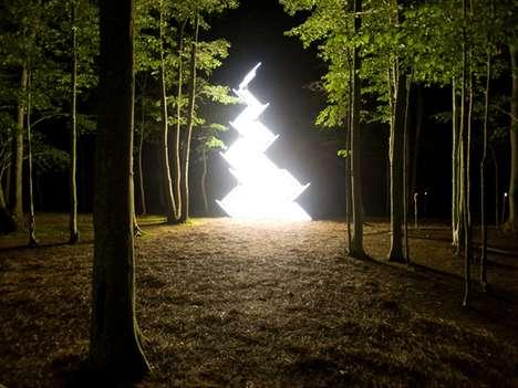 Illuminated Art Installations