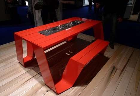 Modernized Picnic Tables